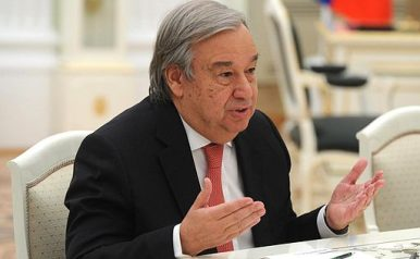 UN Chief Embarks on Central Asia Tour