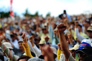 Freedom of Expression Under Siege in Okinawa
