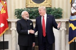 Modi Courts Trump With Flying Colors
