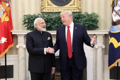 A US-India Consensus on China's Belt and Road?