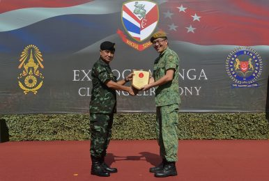 Singapore-Thailand Defense Ties in the Spotlight with Military Exercise