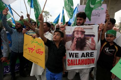 What Syed Salahuddin's 'Global Terrorist' Designation Means for Pakistan