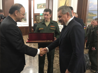 India, Russia Sign 'Military Cooperation Roadmap'