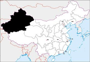 12 Regions of China: Xinjiang
