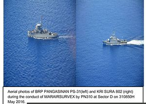 Indonesia Warships in Philippines on Goodwill Mission