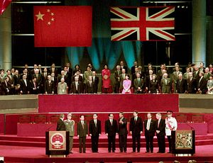 China Says Sino-British Joint Declaration on Hong Kong Is Void
