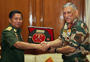 Unpacking the Myanmar Commander-in-Chief's Grand India Visit