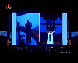 North Korea's ICBM Celebration Concert Reveals Never-Before-Seen Missile Imagery