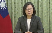 Taiwan's President Vows to Help China Achieve Democracy
