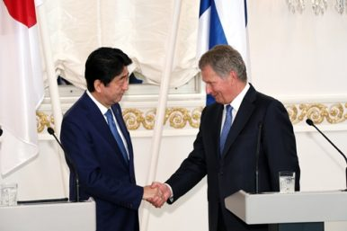 Abe's Nordic Tour and Japan's Arctic Ambitions