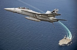 US Navy's New $13 Billion Supercarrier Completes First Flight Operations