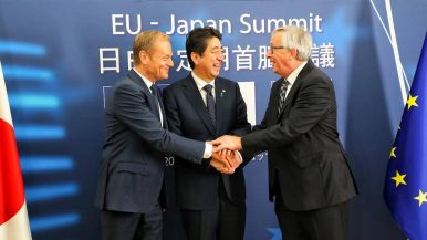 With EU Deal, Japan Sends Powerful Message on Free Trade