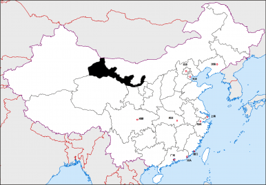 Gansu China Map.12 Regions Of China The Gansu And Ningxia Corridors The Diplomat