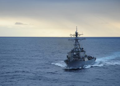 US Navy Destroyer Conducts Freedom of Navigation Operation Near China-Held Island