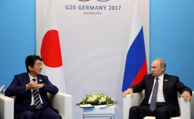 Abe, Putin Meet at G-20 as Disputed Northern Territories Recede Into Distance