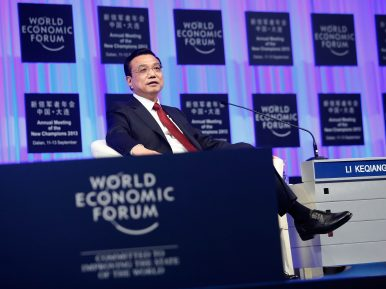 5 Takeaways From Li Keqiang's World Economic Forum Speech