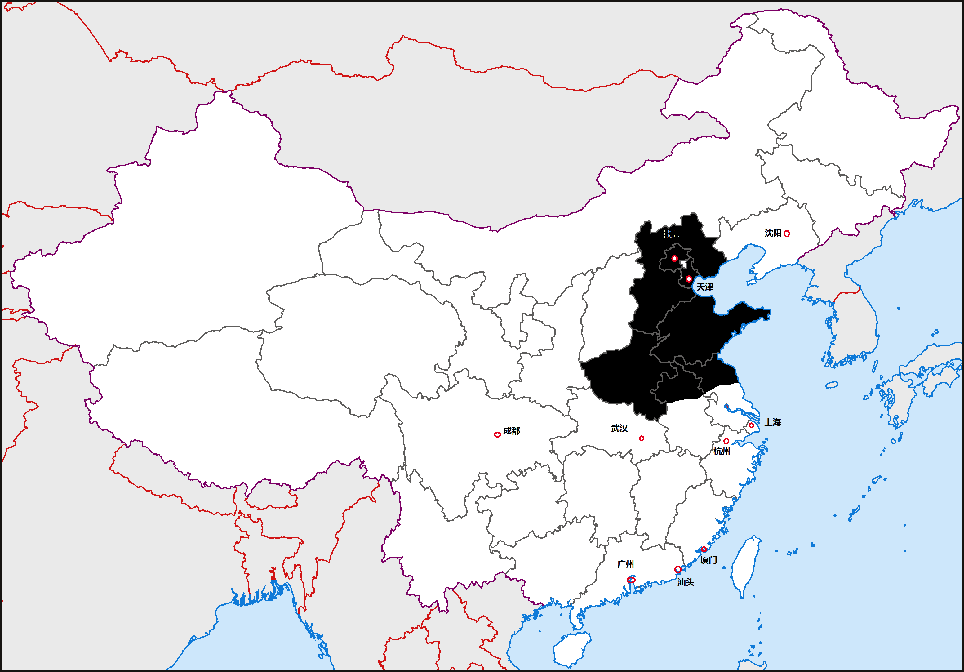 north china plain on map 12 Regions Of China The North China Plain The Diplomat north china plain on map