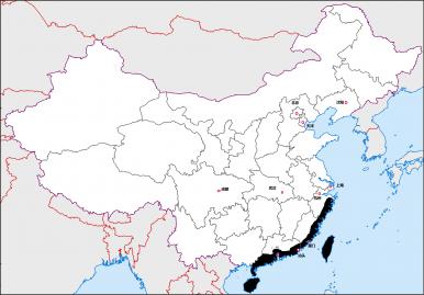 12 Regions of China: The Southeast Coast