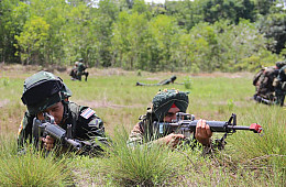 India, Thailand Launch Army Exercise
