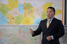 After Anti-China Campaign Rhetoric, Mongolia's President Congratulates China on National Day