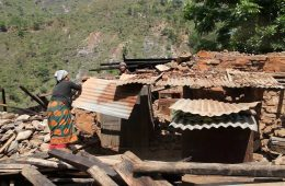 Surviving Nepal's Monsoon in an Earthquake-Ravaged Village