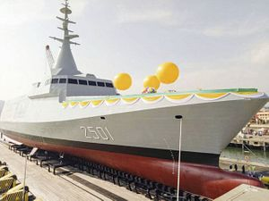 Malaysia Launches First Littoral Combat Ship