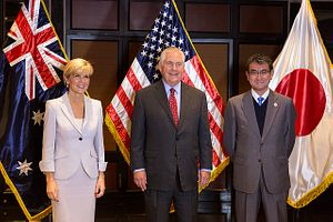 US, Australia, Japan Jointly Challenge China on South China Sea Issue