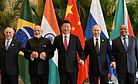 China's Curious Absence From a BRICS Business Conference