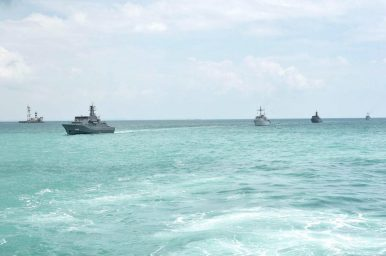 Indonesia, Singapore Conduct Mine Countermeasure Military Drills