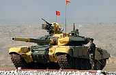 A Battle Tank and an Indian Campus