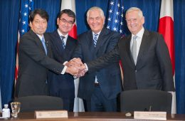 Top US, Japan Defense and Diplomatic Officials Meet to Discuss Alliance, Regional Issues