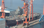 China's New Aircraft Carrier to Conduct Mooring Trials Next Month