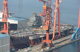 China to Likely Induct New Aircraft Carrier Ahead of Schedule