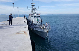 Malaysia Deploys First Warship to New Naval Base Near Disputed Island