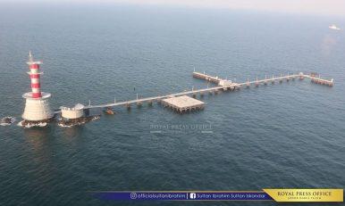 Malaysia Reveals New Maritime Base Near Disputed Island With Singapore