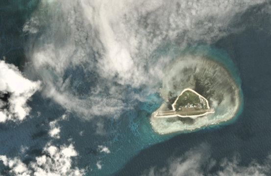 South China Sea A Chinese Invasion Near The Philippines