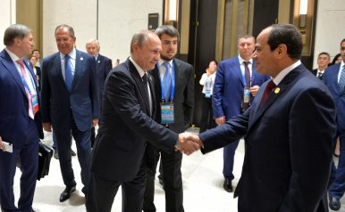 Sino-Russian Shadow Competition Plays Out in Egypt