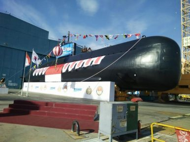 Indonesia Commissions First Attack Submarine in 34 Years