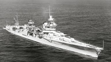 US Navy World War II-Era Heavy Cruiser Wreckage Discovered in Pacific