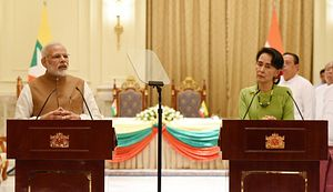 Myanmar's Approach to India