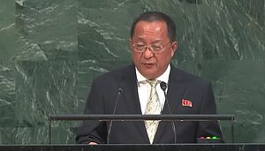 North Korean Foreign Minister Rebukes Trump at UN General Assembly