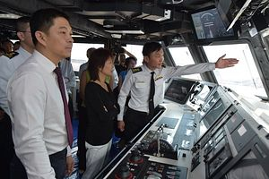 Singapore Launches Fifth New Warship