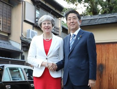 UK-Japan: Prime Minister May Tries to Allay Brexit Fears with State Visit