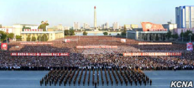North Korea Stages Massive Anti-US Rally After Trump's UN Speech