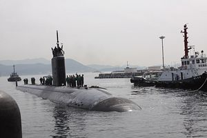 US Nuclear Sub Armed With Cruise Missiles Arrives in South Korea