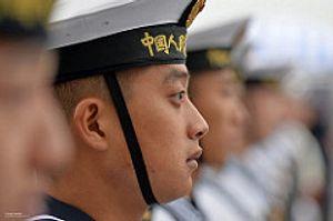 Chinese Warships Make First London Voyage