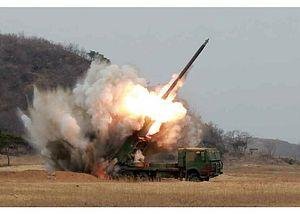 South Korea's Joint Chiefs Want to Intercept North Korean Rocket Artillery Volleys