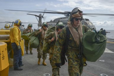 US Amphibious Exercise Practices New Littoral Warfare Concepts