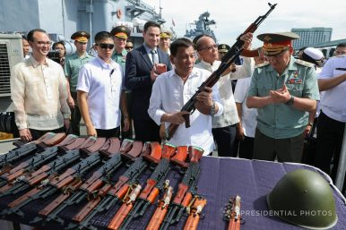 South Korea-Philippines Military Ties in Focus With New Firearms Deal
