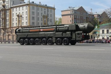 Revealed: Russia's New Experimental ICBM Warheads